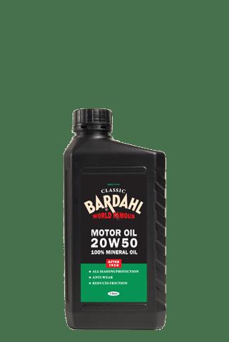 Huile auto BARDAHL classic SAE 20W50 – 1L