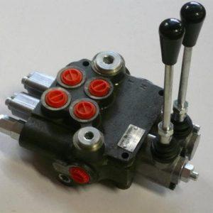 Distributeur hydraulique 45l/min 2 éléments