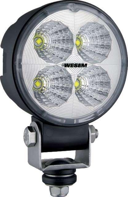 Phare de travail 4 LED DIAM 86 12/24V – 1000LM