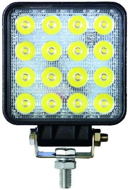 Phare LED Carré 12/24V 48W – 2400LM