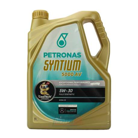 Huile PETRONAS Syntium 5000 AV 5W-30 – 4L