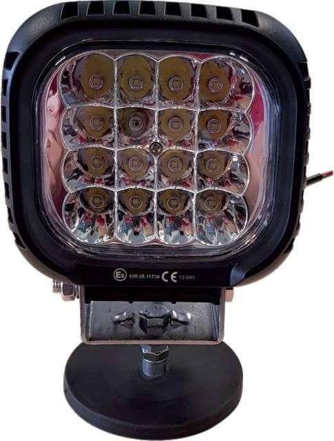 Phare de travail 16 LED carré 12/24V 48W – 4000LM
