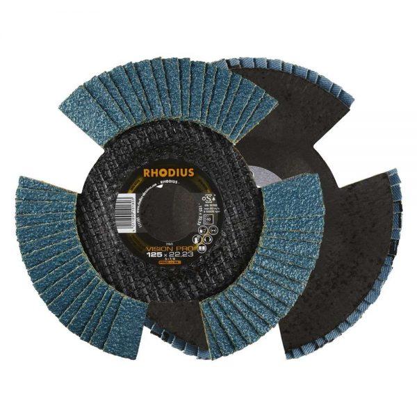 Disque à lamelles V vision conique pro 125 x 22,23 mm K40