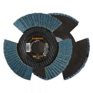Disque à lamelles V conical vision pro 125 x 22,23 mm K80 10 pièces