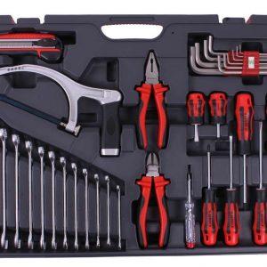 Boîte à outils 1/4 & 1/2pouce – 117 pièces