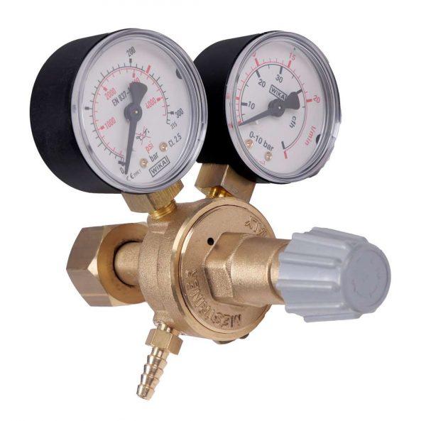 Réducteur compact argon mixte gaz CO2 230 bar