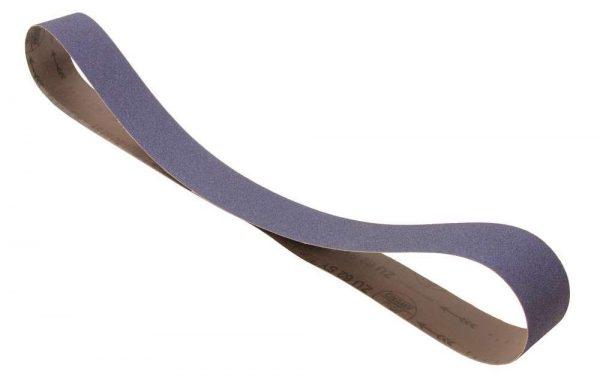 Bande abrasive 75 x 2000 mm grain 120 zirconium