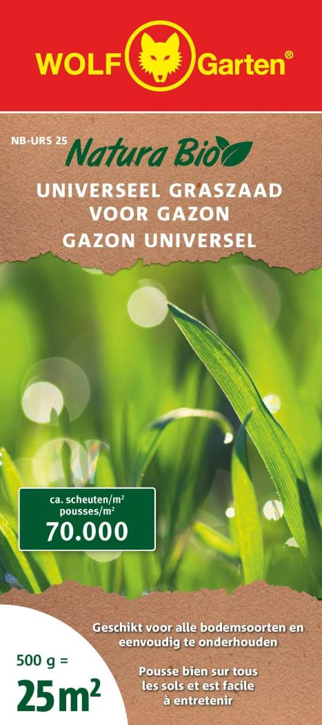 Natura Bio Semence De Gazon Universelle Nb-Urs 25