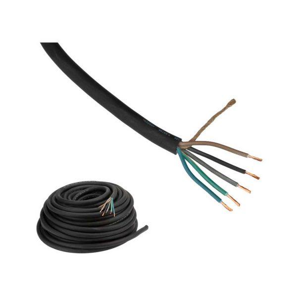 Câble d'alimentation Fluxon H07RN-F type 5 G 2,5