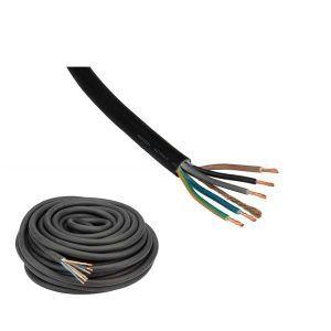 Câble d'alimentation Fluxon H07RN-F type 5 G 4,0