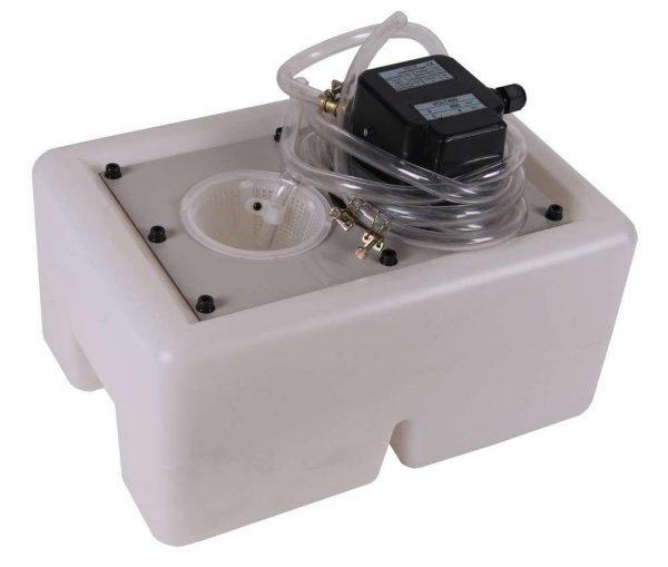 Pompe de refroidissement avec réservoir pour scie à onglets 230V