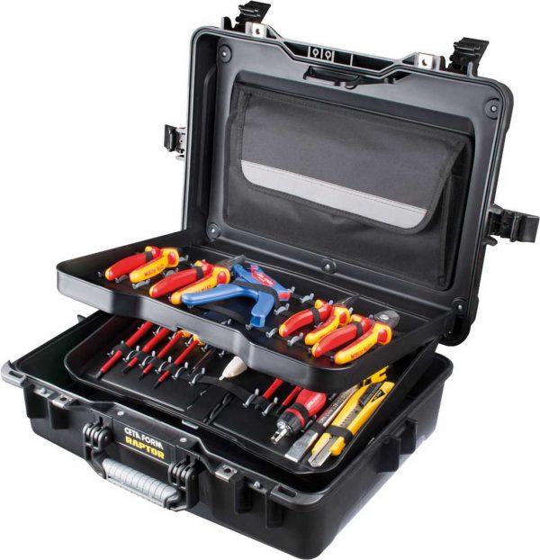 Assortiment d'outils en coffre, 31 pcs
