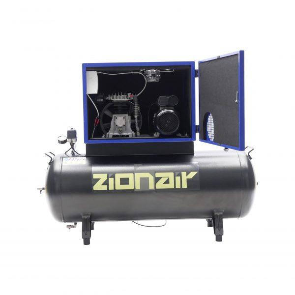Compresseur amorti 2,2kW 230V 10 bar réservoir 200L