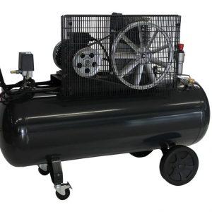 Compresseur 3KW 400V 10bar réservoir 200ltr