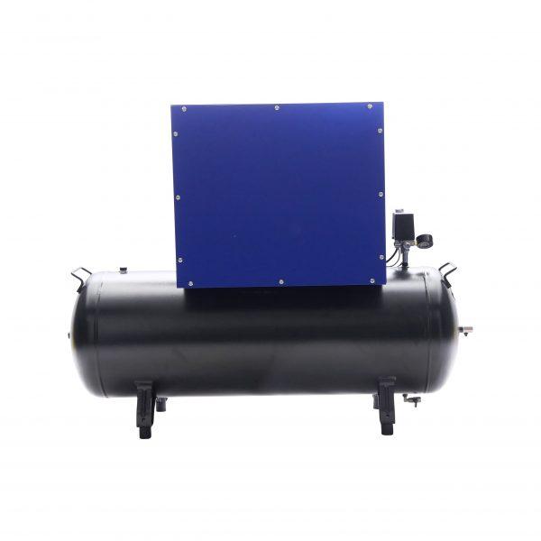 Compresseur amorti 3kW 400V 11 bar réservoir 200L
