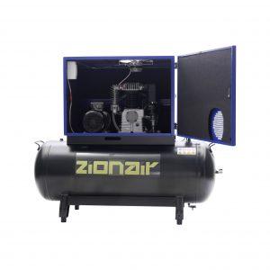 Compresseur amorti 4kW 400V 11 bar réservoir 270L