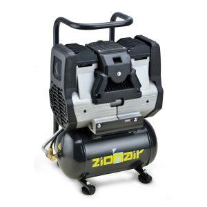Compresseur silencieux 0.56kW 230V 8 bar Réservoir 6L