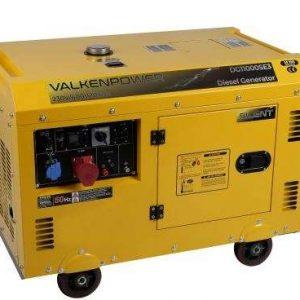 Groupe électrogène diesel silencieux 230V-400V 10kVA
