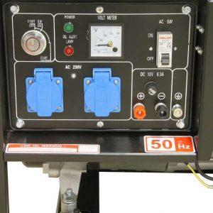 Groupe électrogène diesel type ouvert 230V 6kVA