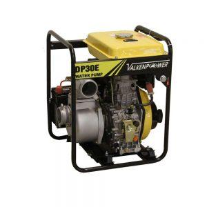 """Pompe à eau diesel 3"""" 80mm démarrage électrique"""