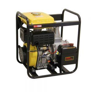 """Pompe à eau diesel 4"""" 100mm démarrage électrique"""