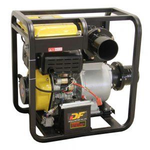 """Pompe à eau diesel 6"""" 150mm démarrage électrique"""