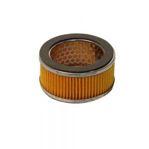Élément de filtre à air pour compresseur amorti