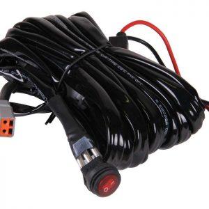 Faisceau de câblage avec relais et boîtier de commutation 20A