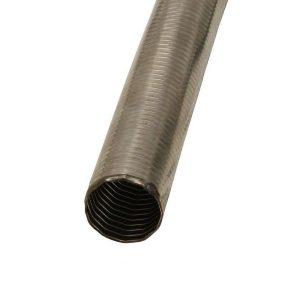 Tube d'échappement flexible en acier inoxydable 40mm 1,5m