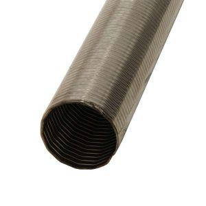 Tuyau d'échappement flexible en acier inoxydable 60mm 1,5m