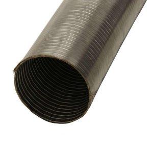 Tuyau d'échappement flexible en acier inoxydable 80mm 1,5m