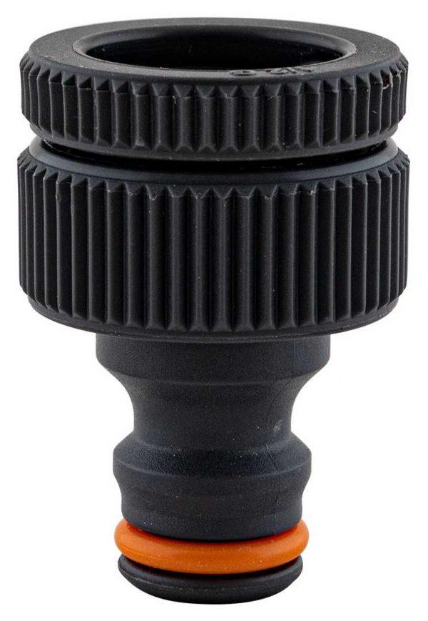Raccord pour nez de robinets – PVC –  Ø 1/2″ – Ø 3/4″