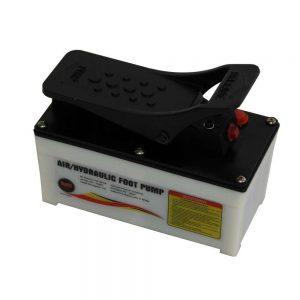 Boîtier en plastique pneumatique pour pompe à pied hydraulique