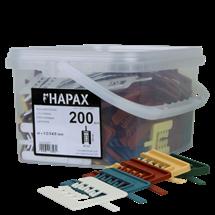 HAPAX assort. cales bardage 40×55/200Pc