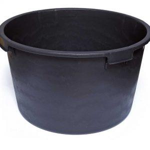 Cuvelle à mortier – PE  120 L – noir