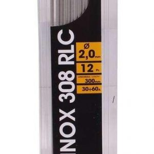 Electrodes de soudage inox 308RLC 2,0mm 300mm 12pcs