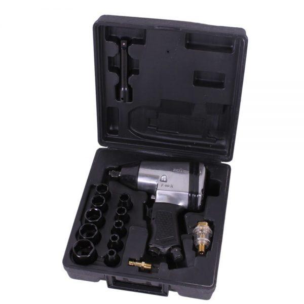 """Kit clé à chocs pneumatique 1/2 """" avec douilles"""