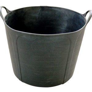 """Cuvelle """"MULTI-FLEX"""" caoutchouc – noir – 40 L"""