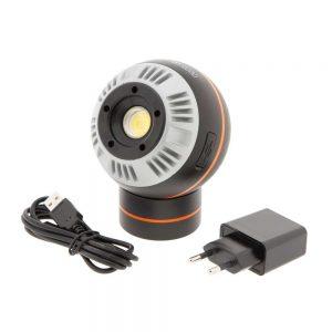 Lampe LED boule 5W magnétique rechargeable