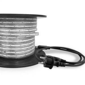 Bande LED 45m avec prise / 30 LED par mètre / IP65