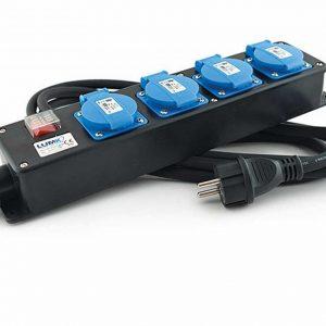 Bloc multiprises – 4 prises – 10 m câble