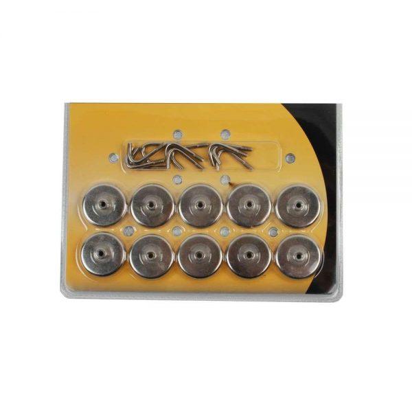 Crochets magnétiques set 10 pièces