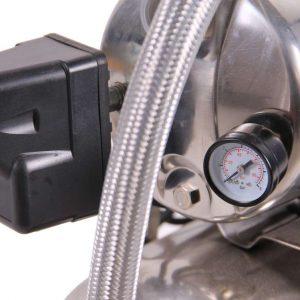 Système d'eau sous pression pompe et réservoir en acier inoxydable 0,75 kW