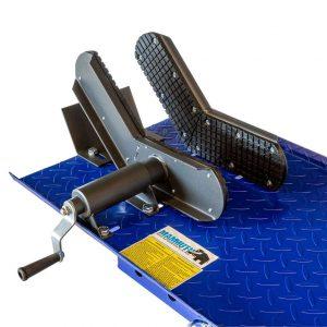 Table élévatrice scooter et cyclomoteur 360 kg hydraulique