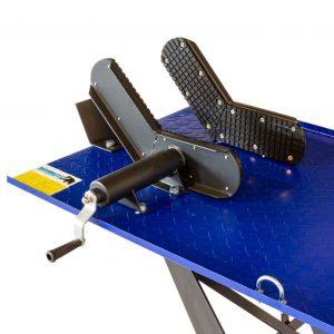 Table élévatrice à moteur parallèle 450kg hydraulique et pneumatique