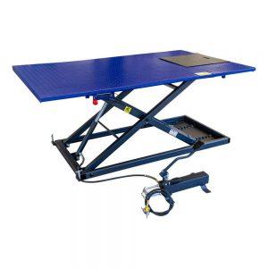 Table élévatrice quad et trike 675kg hydraulique et pneumatique