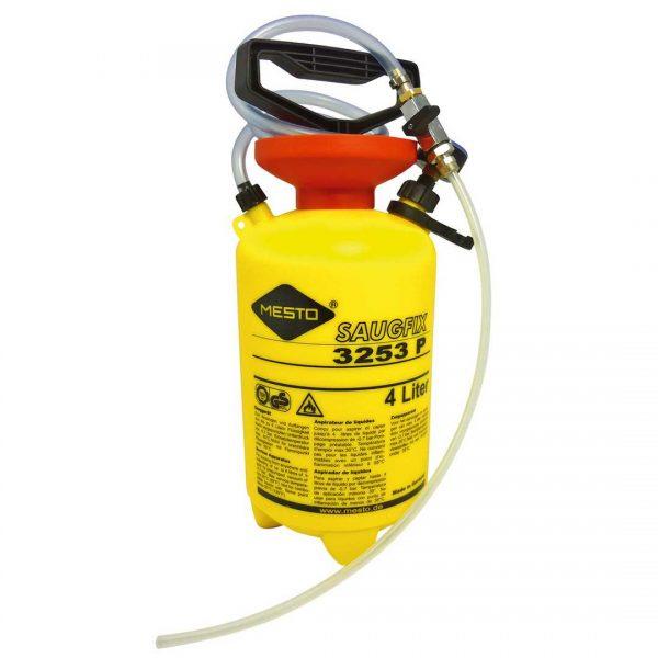 Aspirateur sous-pression SAUGFIX  4 L – plastique – 0,7 bar