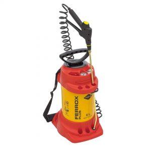 Pulvérisateur haute pression FERROX PLUS  6 L – 6 bar – acier