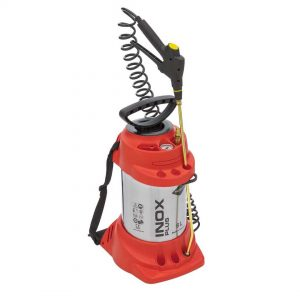 Pulvérisateur haute pression INOX PLUS, avec soupape de remplissage  6 L – 6 bar – inoxydable