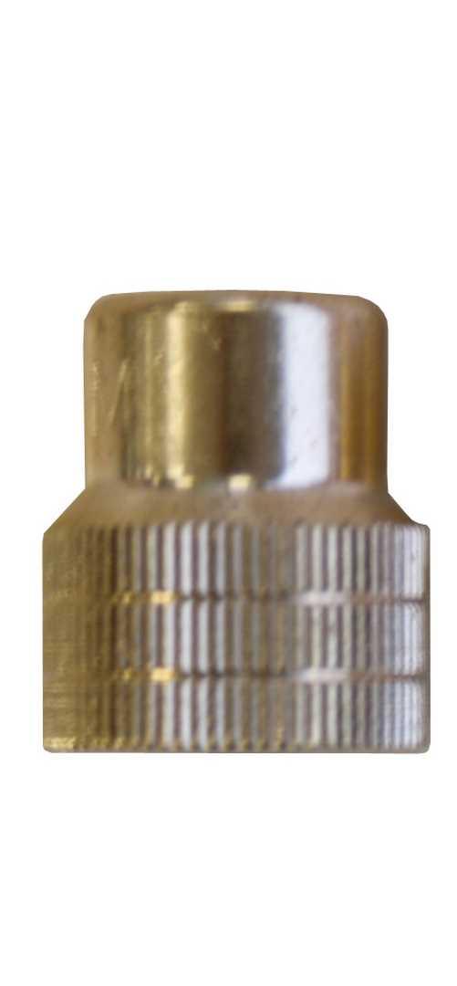 Buse de précision, 3 moletages, forme du jet 70° – laiton